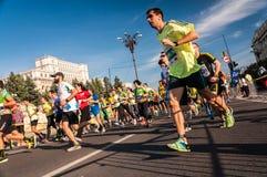 2015 de Internationale Marathon van Boekarest Royalty-vrije Stock Afbeelding