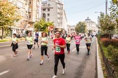 2015 de Internationale Marathon van Boekarest Royalty-vrije Stock Fotografie