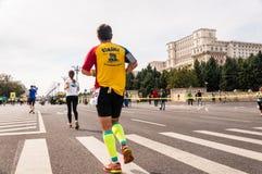 2015 de Internationale Marathon van Boekarest Stock Foto's