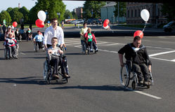 De Internationale Marathon van Riga Royalty-vrije Stock Fotografie