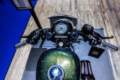 DE INTERNATIONALE DE MOTORshow 2018 VAN 39TH BANGKOK stock foto