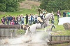 De internationale proef van het Paard in Burgie royalty-vrije stock afbeelding