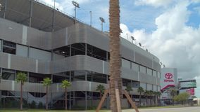 De Internationale Speedwaybaan van Daytona stock footage
