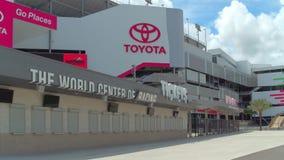 De Internationale Speedwaybaan van Daytona stock videobeelden