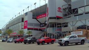 De Internationale Speedwaybaan van Daytona stock video