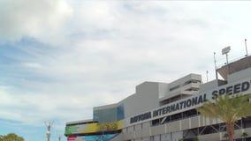 De Internationale Speedwaybaan van Daytona stock footage