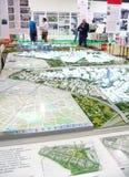 19de Internationale tentoonstelling van architectuur en ontwerp Stock Afbeelding