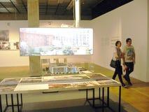 19de Internationale tentoonstelling van architectuur en ontwerp Stock Foto