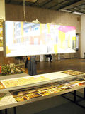19de Internationale tentoonstelling van architectuur en ontwerp Stock Afbeeldingen
