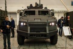 13de internationale tentoonstelling van bewapeningswapens en Veiligheid 2016 Stock Fotografie