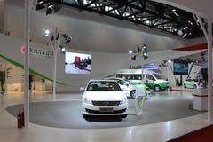 2014 de Internationale Tentoonstelling van China op Groene en Energie Efficiënte Voertuigen Royalty-vrije Stock Fotografie
