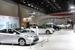 2014 de Internationale Tentoonstelling van China op Groene en Energie Efficiënte Voertuigen Royalty-vrije Stock Foto