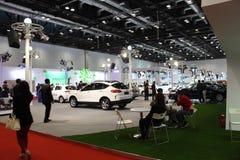 2014 de Internationale Tentoonstelling van China op Groene en Energie Efficiënte Voertuigen Stock Afbeelding