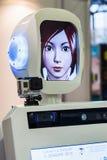 3de Internationale Tentoonstelling van Robotica en geavanceerde technologi Stock Fotografie