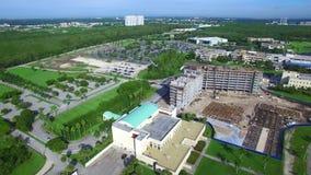 De Internationale Universiteit van Florida stock footage