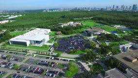 De Internationale Universiteit van Florida stock videobeelden