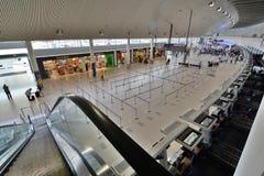 De internationale vertrekzaal De Luchthaven van Perth perth Westelijk Australië Stock Fotografie