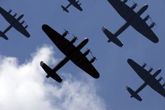 De Inval van Lancaster Royalty-vrije Stock Afbeelding