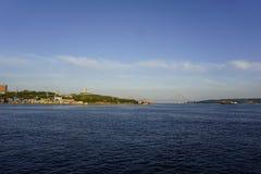 De Inval van Vladivostok Stock Afbeeldingen