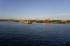 De Inval van Vladivostok Royalty-vrije Stock Afbeeldingen