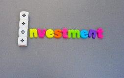 De investering van de aas: grote terugkeer. Royalty-vrije Stock Afbeelding