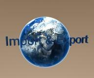 De invoer en de Uitvoer vector illustratie