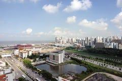 De Invoerhaven van Gongbei Royalty-vrije Stock Foto's