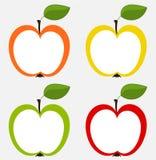 De inzameling van appelen Royalty-vrije Stock Fotografie