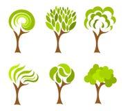 De inzameling van bomen Royalty-vrije Stock Afbeeldingen