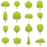 De inzameling van bomen Royalty-vrije Stock Foto's