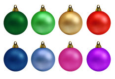 De Inzameling van de Ballen van Kerstmis Stock Afbeelding