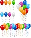 De Inzameling van de Ballons van de partij Stock Fotografie
