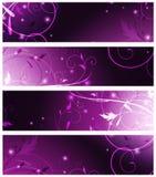 De inzameling van de banner Stock Foto