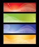 De inzameling van de banner Royalty-vrije Stock Fotografie