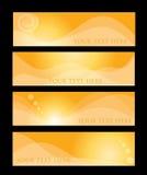 De inzameling van de banner Royalty-vrije Stock Afbeeldingen