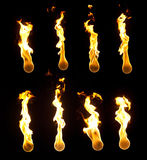 De Inzameling van de brandbal stock afbeelding