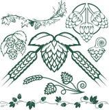 De Inzameling van de hop royalty-vrije illustratie