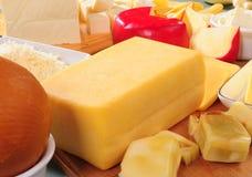 De inzameling van de kaas Royalty-vrije Stock Afbeelding
