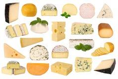 De inzameling van de kaas Royalty-vrije Stock Foto
