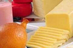 De inzameling van de kaas. De reeksen, zien meer? Royalty-vrije Stock Afbeeldingen