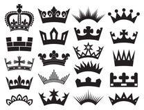 De inzameling van de kroon royalty-vrije illustratie