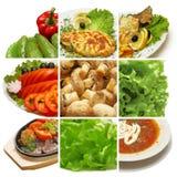 De inzameling van de maaltijd Royalty-vrije Stock Foto's