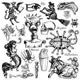 De inzameling van de mysticus Royalty-vrije Stock Fotografie