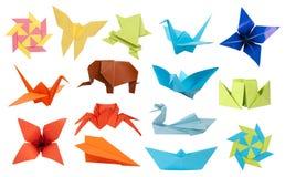 De inzameling van de origami Royalty-vrije Stock Fotografie
