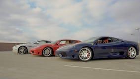 De Inzameling van de sportwagen Stock Afbeeldingen