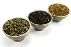 De inzameling van de thee Stock Afbeeldingen