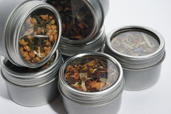 De inzameling van de thee Stock Foto