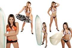 De Inzameling van de Waterhoos van de bikini stock foto