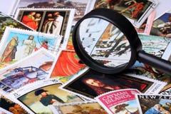 De inzameling van de zegel stock fotografie