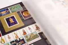 De Inzameling van de zegel Royalty-vrije Stock Afbeelding